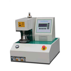 Manufacturer manual operated digital carton box burst strength tester