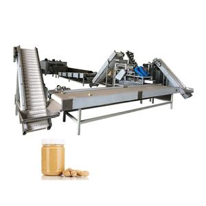 1 Year Warranty Peanut Manufacturer Machine Peanut Fully Automatic Peanut Butter Production Line Manufacturer Industrial Peanut Butter Making Machine