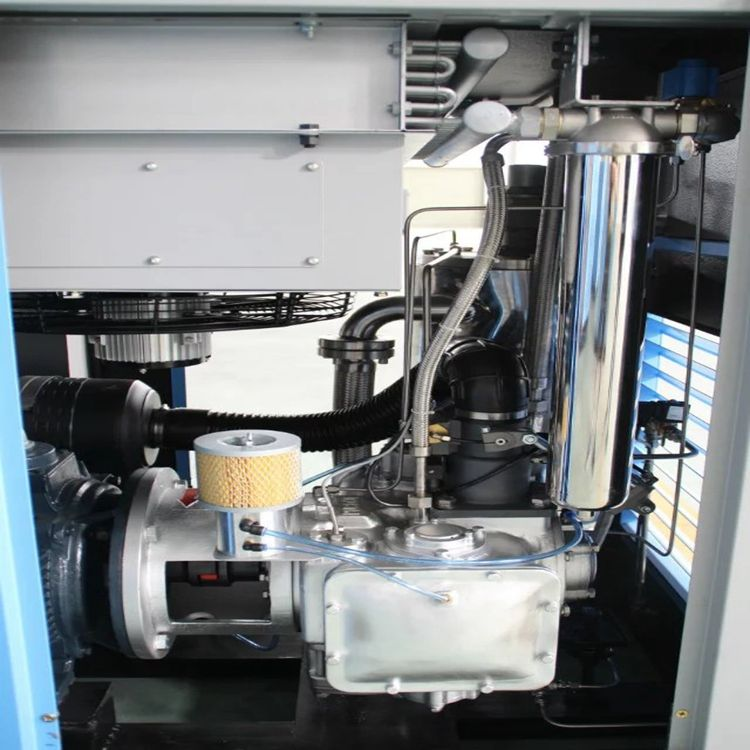 55kw direct drive food grade screw air compressors industrial oil free air compressor for dental