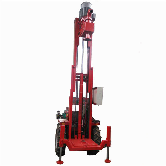200m core drilling portable borehole water well drilling rig machine