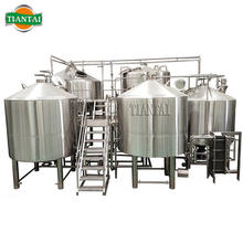 Turnkey automatic beer factory beer brewing and fermentation system