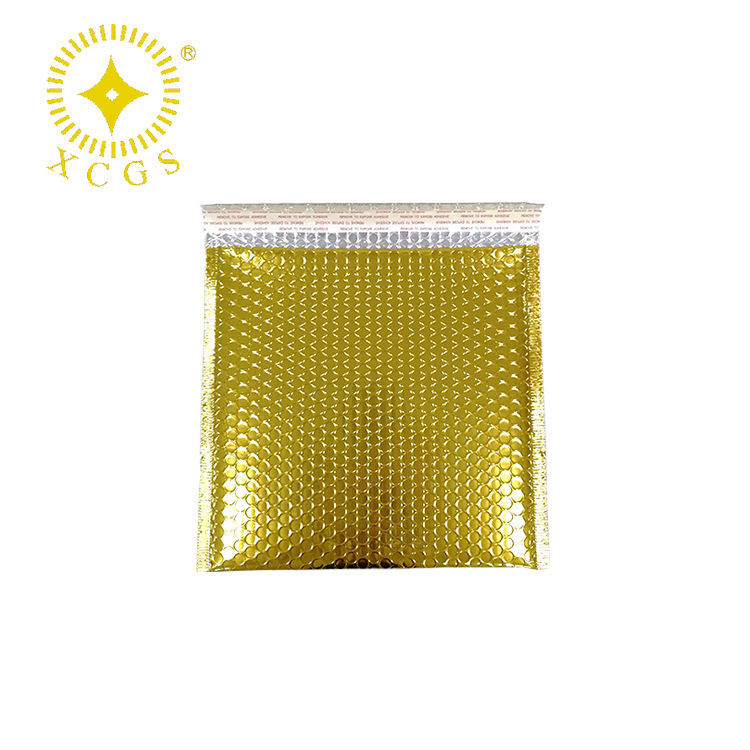"6*9"" Gold Metallic Bubble Mailers Wrap Mailing Bags Envelope Shipping Packages"