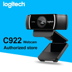 Logitech Webcam C922 wholesale android tv box free driver laptop camera 720P Logitech c310 hd usb pc Webcam for skype
