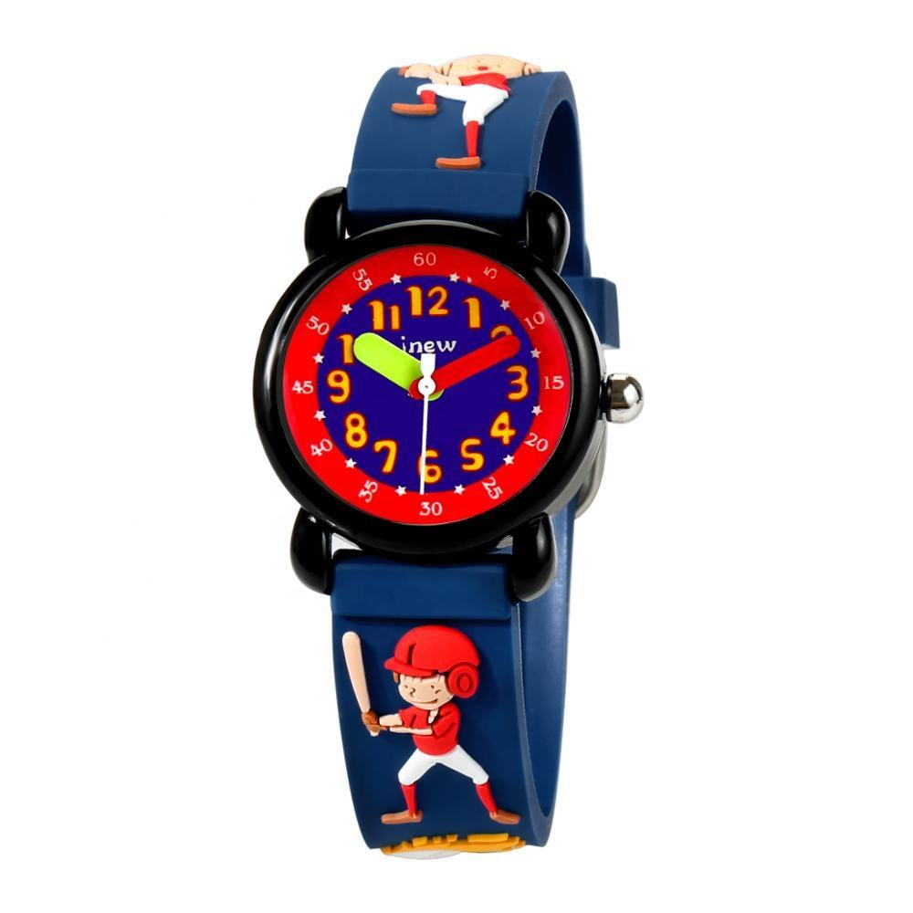 Fashion Environmental Sports 3ATM Waterproof Watch For Kids