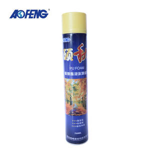 Factory Direct Supply Waterproof Aerosol Canned Expanding Foam Sealant 750ml 500ml Polyurethane Spray Foam PU Insulation Foam