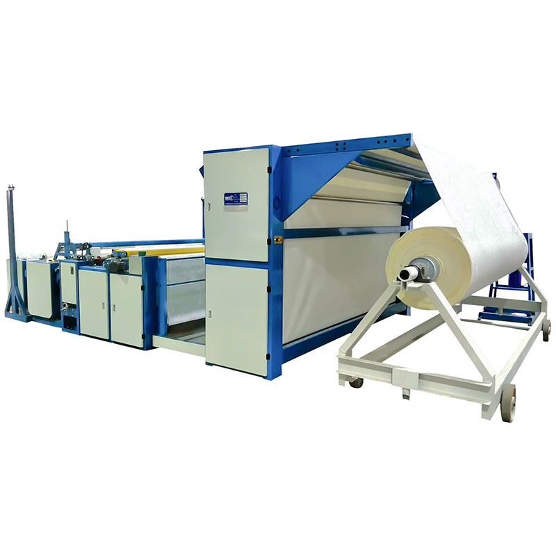 SUNTECH Fabric Inspection Tables a-frame to big roll with 4 point system checking Machine Price