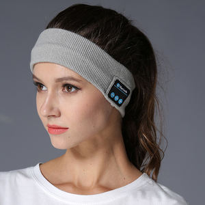 Fashion Knitted Sleep Headset Headband Wireless Headphones for Running/Sport/GYM