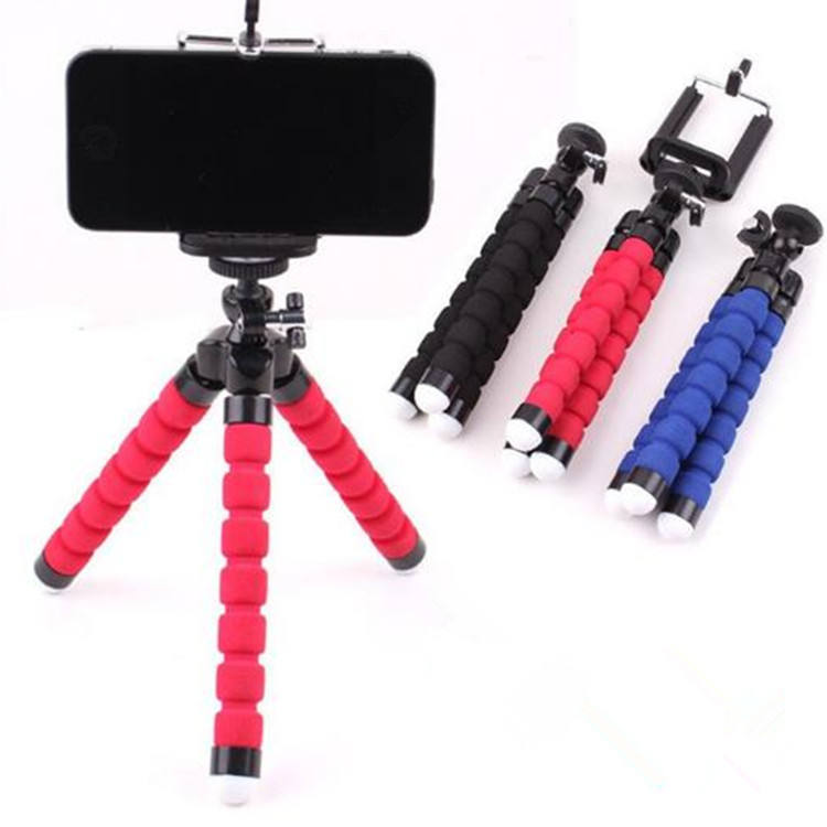Portable And Adjustable Mini Cell Phone Tripod With Universal Clip For Mobile Phone