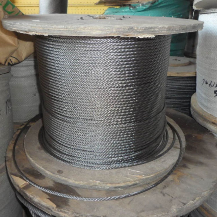 1x7 7 wire strand zinc coated galvanized guy steel wire strand for rope