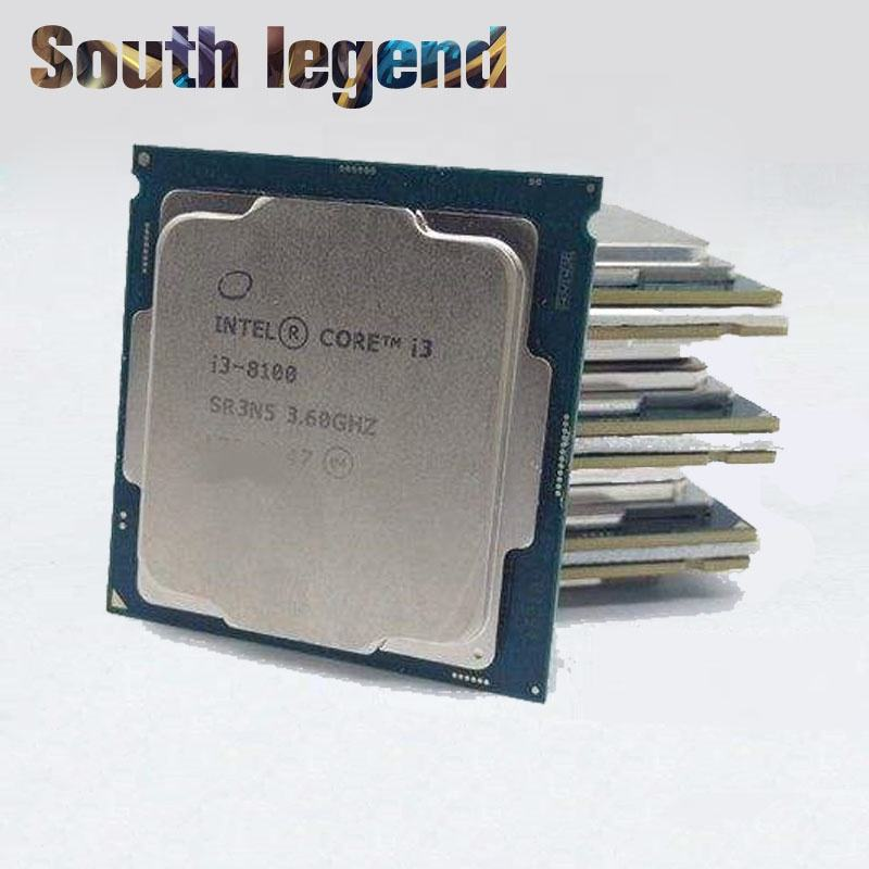 New and Hot sale Intel Core Processor i3 8100 CPU lga1151 For Desktop