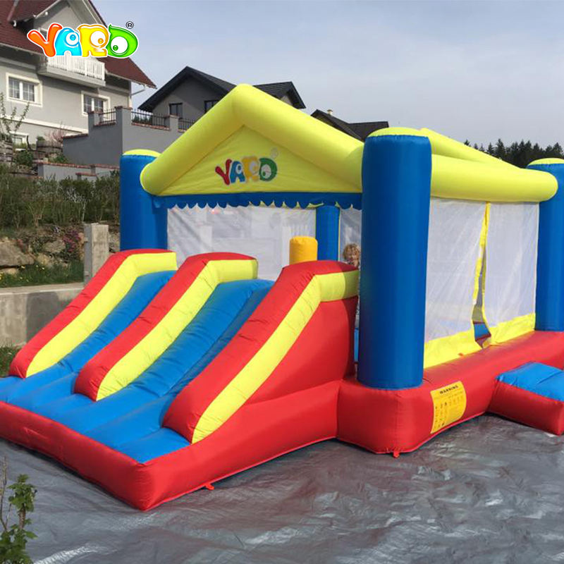 यार्ड Inflatable घर नायलॉन Juego Inflable मज़ा उछाल घर महल कूद घर के साथ Facotry कीमत