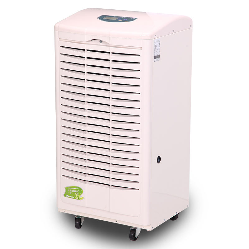Industrial Commercial Moisture Removing Machine130L/Day Dehumidifier With Temperature Humidity Controller