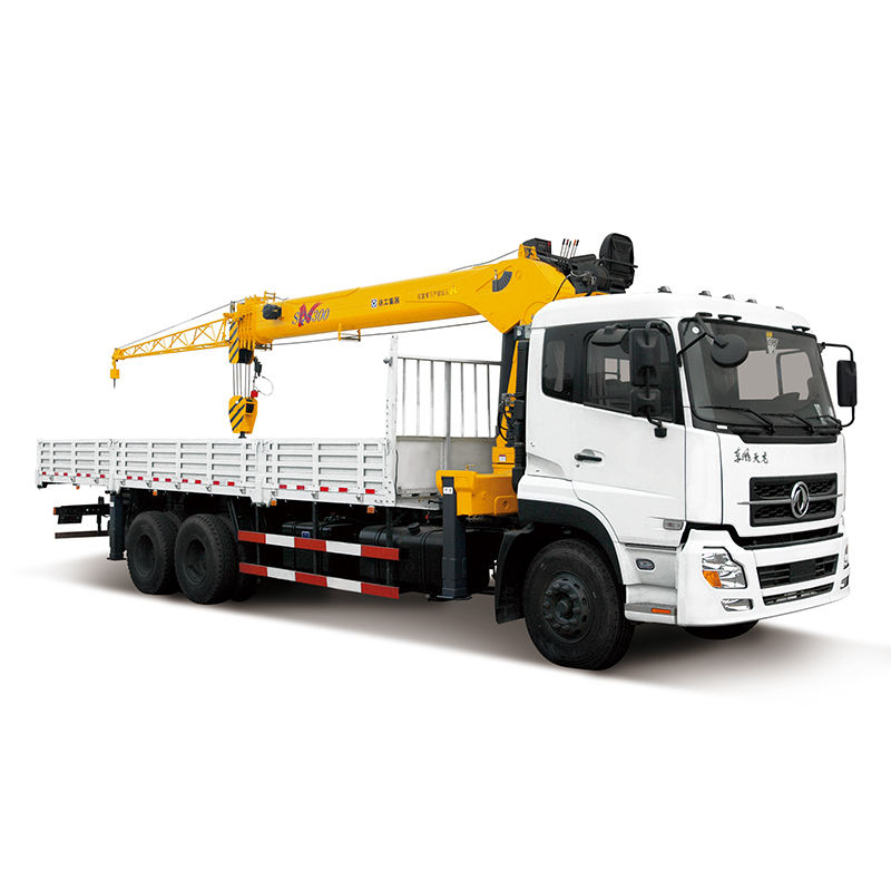 China Top brand SQS250 10 ton truck mounted man basket crane for sale in Uzbekistan