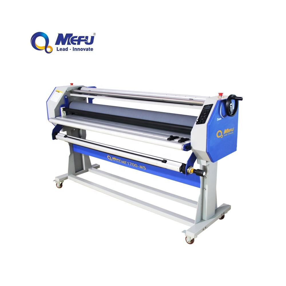 MEFU Electric cold laminator for Vinyl Photo Film, 64inch width roll laminator