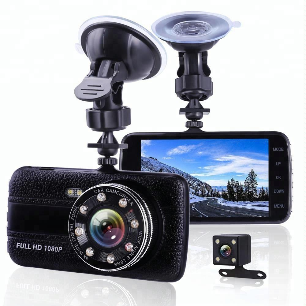 Cheapest 4.0 Inch Motion Detection Dual Lens Dashboard Camera Night Vision Best Car Dvr Recorder