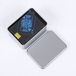 Custom Gaming PVC Poker Waterproof Playing Cards poker cards plastic