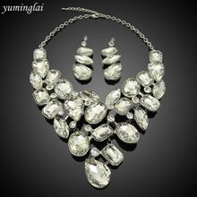 crystal jewellery ,jewelry sets ,women necklace sets