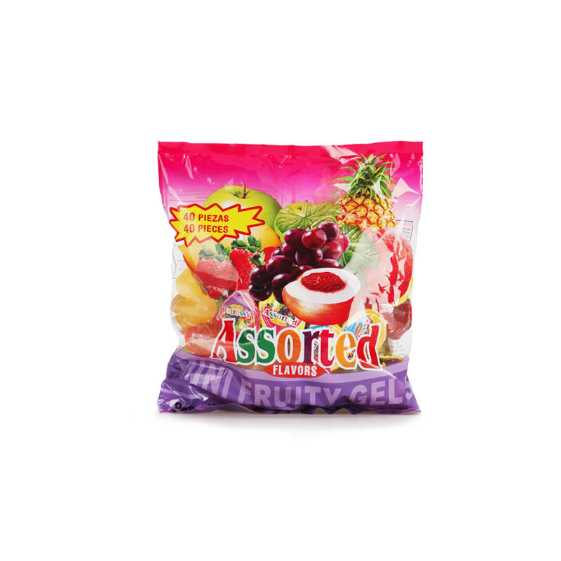 New products natural flavored assorted taiwan fruit mini jelly