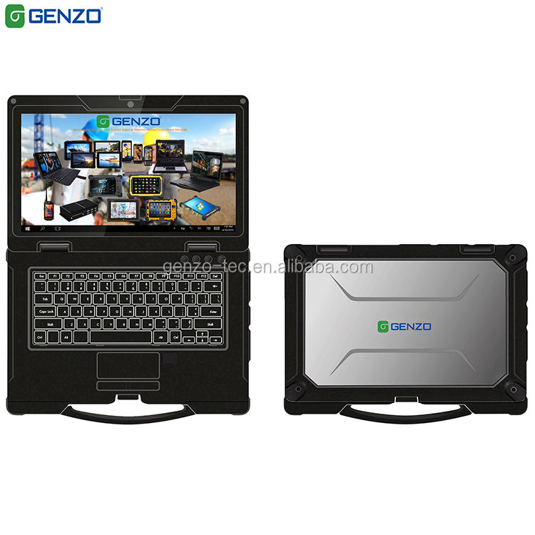 14 inch Fully Rugged Notebook computer not used Rugged industrial Laptop