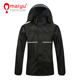 Good waterproof polyester raincoat fabric mens raincoat cheap