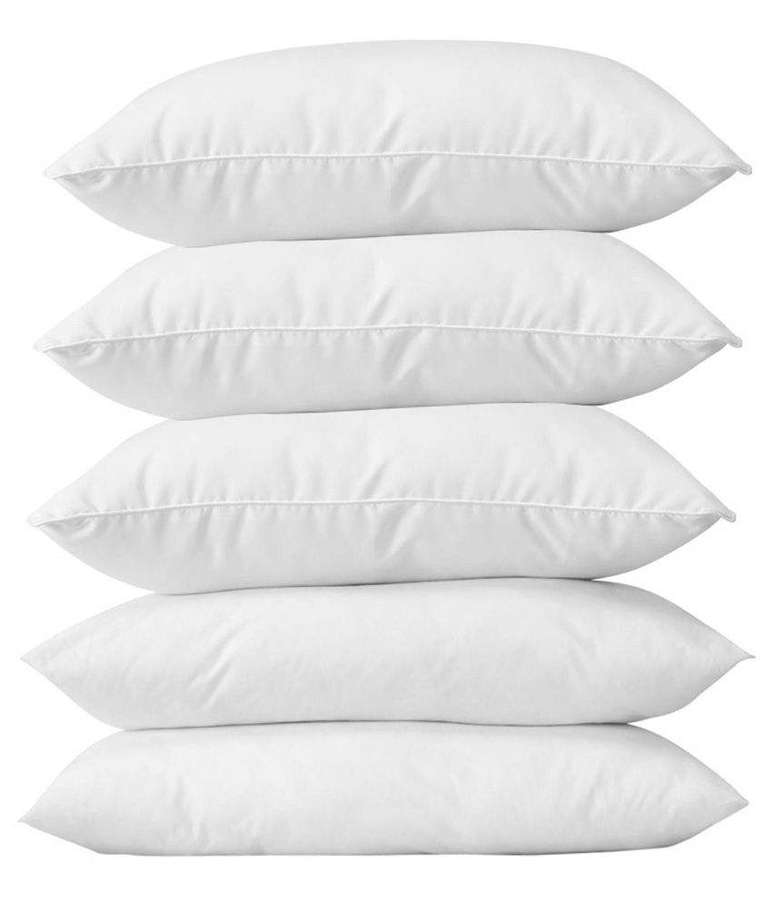 MIcrofiber White 3D Hollow Fiber Inner Pillows For Hospital