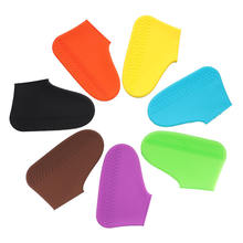 Hot Sale Silicone Waterproof Shoes Cover For Rainy day Anti Slip Rain Boot Overshoes Camping Outdoor Reusable Shoe protectors