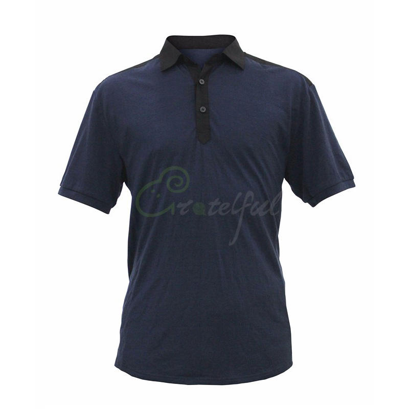 Wholesale good quality OEM polo t- shirt custom print logo merino wool men plain sport polo t shirt