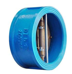dn100 pn16 dual plate wafer type for oil slow closing lift check valve