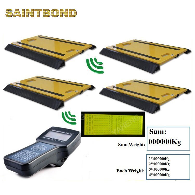 IP66 Customize Dynamic Axle Scale Hand Portable Vehicle Weighing Pads