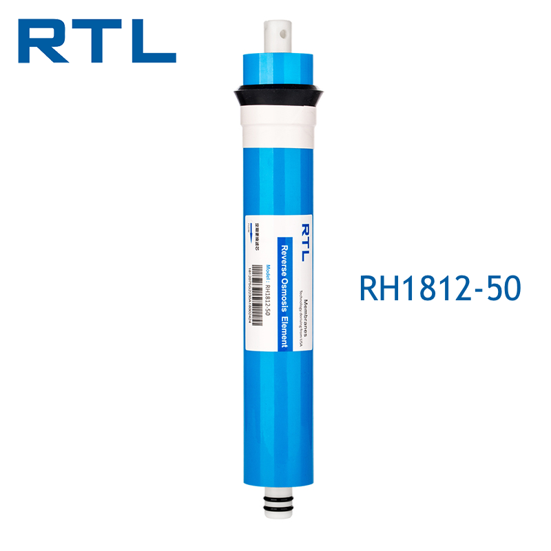 Domestic 1812 - 50 GPD RO Membrane For Mini Reverse Osmosis Purification System