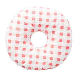 Wholesale Plaid Printed Broken Sponge Donut Seat Cushion Car Piles Seat Cushion