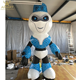 3m tall customized inflatable robot mascot cartoon character