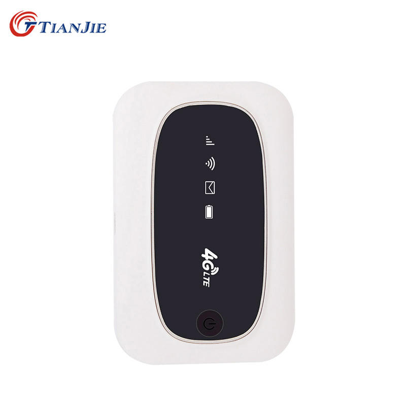 TIANJIE high speed portable 150mbps wifi modem 4g mobile universal unlocked mini 4g router wifi sim card router