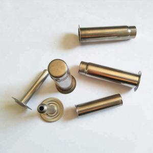 Embutido metal estampado tubo empresas