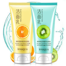 ODM/OEM IMAGES Natural Plant extract moisturizing facial cleanser for Face Wash