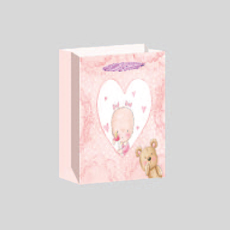 China funny gift bags baby paper bag supplier