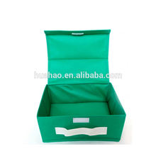 reusable nonwoven foldable fabric storage box