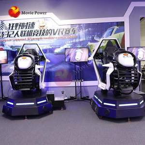 City Car Driving Game Machines 9d-vr 6dof Hydraulic Racing Simulator Virtual Reality Race Seat Simulator