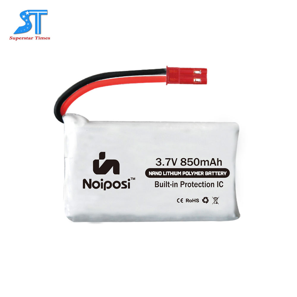 952540 3.7 v 850 mah 25c Aggiornamento Lipo Batteria (JST Plug) per <span class=keywords><strong>MJX</strong></span> X200 RC Quadcopter Drone Parte