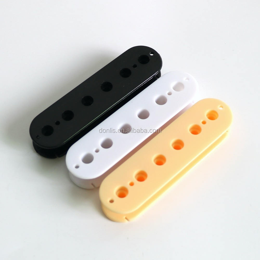 ABS material LP Humbucker Guitar Pickup Bobbin For Wholesale in black white and ivory colors