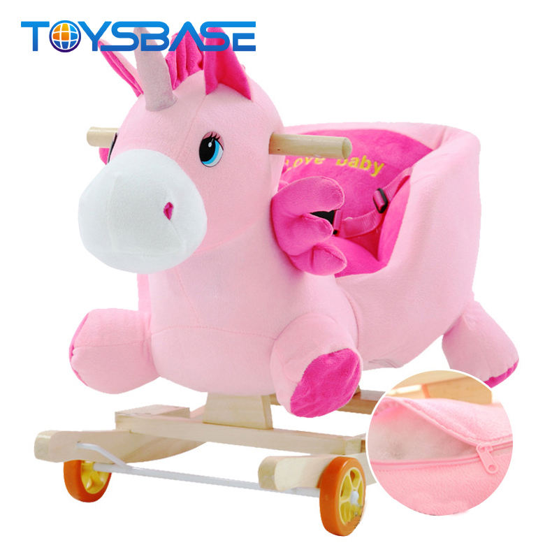 Colorized Baby Swing Toys Rocking Horse