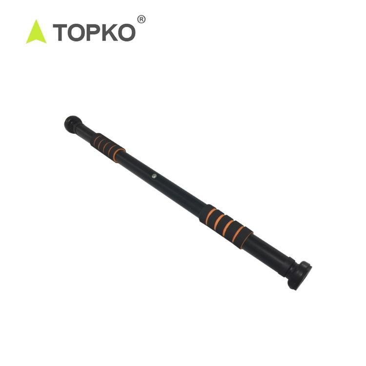 TOPKO Hot Selling Portable Private Label Adjustable Gym Door Security Bar