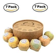 Natural Ingredients Aromatherapy SPA Bath Gift Set With Pure Essential Oil Bubble Fizzy Single Unit Bath Bombs