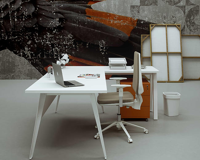 Fannai (High) 저 (quality office 가구 새 Products optional Standard 표 Size 나무 표 White Executive Office 메트 vintage Desk
