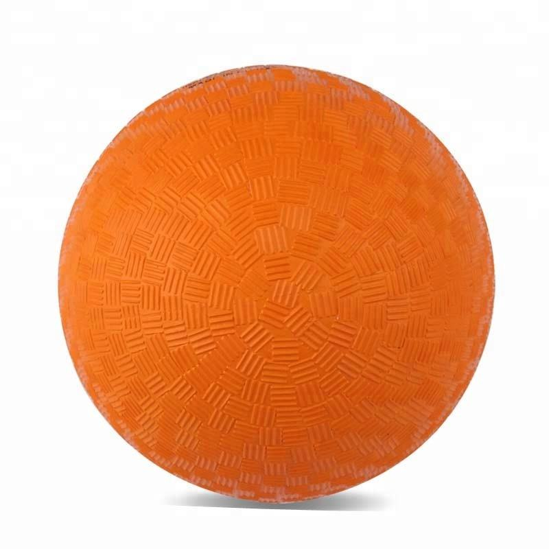 hot selling soft colorful rubber playground ball for kids sports indoor or outdoor