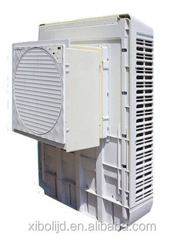 automotive evaporator solar power air cooler fan desert wall mounted industrial water evaporative air cooler