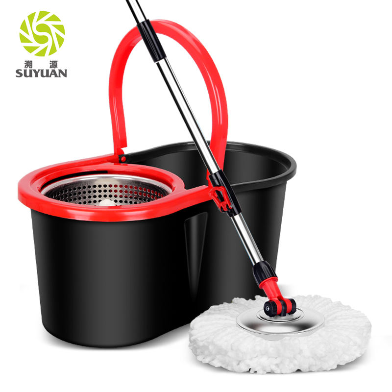 Good Quality and Cheap Price mop 360 degree Classic Magic rotating Mop with stainless Bucket