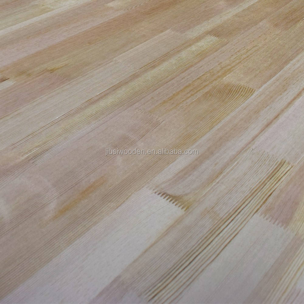 Pine wood finger joint board size 1220*2440mm or as requested used for construction and furniture