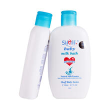 Mild formula tear free baby body wash milk bath with OEM services