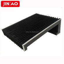 PVC machine shield fabric accordion protective bellow cover